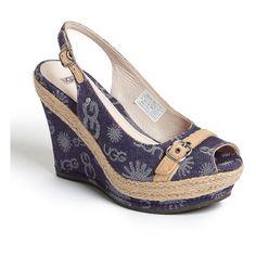 UGG® Australia 'Noella' Sandal ❤ liked on Polyvore