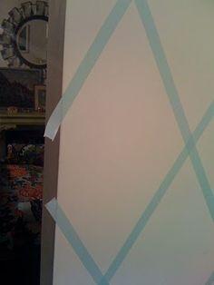 Little Green Notebook: Temporary Wallpaper Alternative
