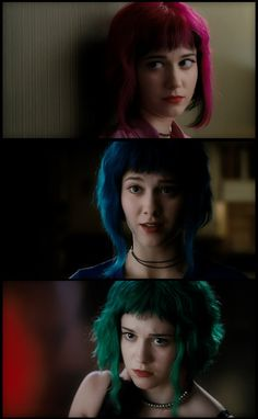 Ramona Flowers is definitely the kind of girl that would've broken my heart in college. #iheartramona