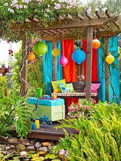 20 DIY σκίαστρα, κουρτίνες, κουνουπιέρες για εξωτερικό χώρο! | Φτιάξτο μόνος σου - Κατασκευές DIY - Do it yourself