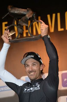 Tour of Flanders 2014 - Fabian Cancellara celebrates his third Tour of Flanders victory