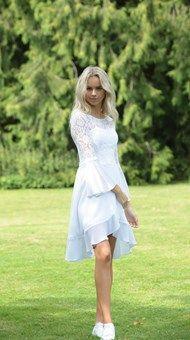 Confirmation Dresses, White Dress, Fashion, Weddings, Dress, White Dress Outfit, Moda, La Mode, Fasion