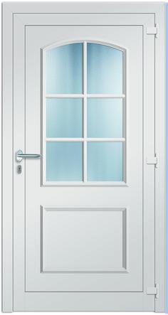 Modell Neptun Aluminium-Eingangstüre in weiß - Innenansicht! Sternstunden-Türen erhätlich bei Fenster-Schmidinger aus Gramastetten in Oberösterreich! #doors #türen #alutüren #sternstunden