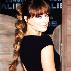 Pretty braid-requires thick hair!