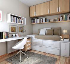jugendzimmer einrichtung kompakt modern schön gestalten