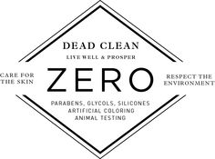 Did you know DEAD CLEAN does not contain harmful ingredients, such as parabens?