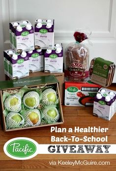 Keeley McGuire: Pack a Healthier Back-to-School #Giveaway!