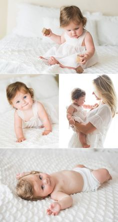 """LOVE this age!It's a perfect time to do a """"Mini Baby Session"""". They typically . LOVE this age!It's a perfect time to do a """"Mini Baby Session"""". They typically . 3 Month Old Baby Pictures, 6 Month Baby Picture Ideas, Baby Girl Pictures, Family Pictures, Mother Baby Photography, Newborn Photography Poses, Children Photography, City Photography, Foto Newborn"""