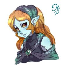 Pirate Midna R by ManiacPaint.THIS IS SO CUTE!