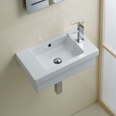 Bissonnet Area Boutique Logic 45 Ceramic Bathroom Sink & Reviews | Wayfair