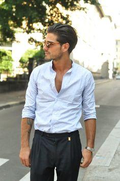Men's wear # fashion for men # mode homme # men's fashion Look Fashion, Mens Fashion, Fashion Outfits, Fashion Styles, Stylish Men, Men Casual, Cool Outfits For Men, Mode Man, Street Style 2014