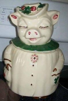 Shawnee, Winnie the Pig cookie jar.