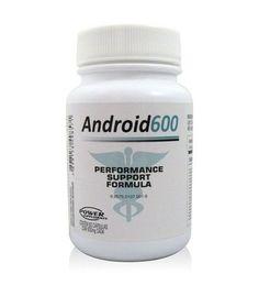Pré Hormonal Android 600 60 Cápsulas - Power Supplements - Corpo Fit Suplementos