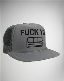 Fuck Yo Couch Hat Grey Couches cb1e588bd300