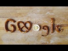 Today's Doodle, freshly baked by Esther's German Bakery, celebrates the one and only pretzel—one of the world's most versatile and bel. German Bakery, Google Doodles, Food Pictures, How To Find Out, Celebrities, Google Company, Logo Google, Pretzels, Search