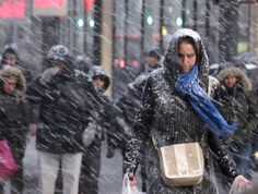 New York blizzard: Winter snow storm 'Juno' hits US East Coast, in pictures