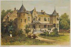 Kasteel Nederhemert in de 19e eeuw