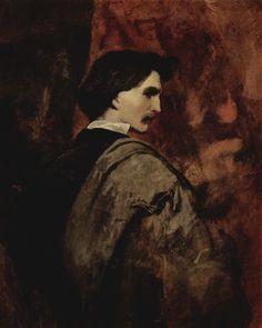 Anselm Feuerbach: Selbstporträt