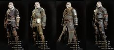 All witcher armor sets- The witcher 3