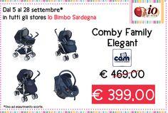 Trio Comby Family #CAM #iospendomeno - settembre - In tutti gli #store #IoBimboSardegna