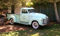 """Vintage good old fashioned reliable """"Chevy"""" trucks"""