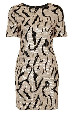 Patterned Sequin T-Shirt Dress  @Nordstrom http://rstyle.me/n/drf7cnyg6