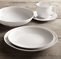 Chinese Porcelain Classic Coupe 20-Piece Dinnerware Set with Classic Coupe Cereal Bowl | Dinnerware Sets | Restoration Hardware