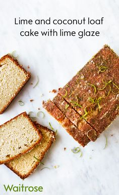 Our coconut and lime cake has an extra special zesty twist. When it's still hot, pierce holes so the sugared lime glaze trickle into the cake. See the full recipe on the Waitrose website.
