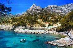 Calanque de Sormiou Corse France