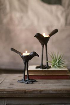 Candle Holder Set, Tealight Candle Holders, Tea Light Holder, Candleholders, Candlesticks, Tea Light Candles, Tea Lights, Wood And Metal Shelves, Cast Iron Set