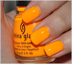 China Glaze's Sun Worshipper (in my top 5 all-time favorites!!)