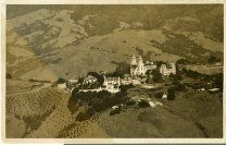 San Simeon, Aerials, Construction | Kennedy Library Online Archive San Simeon, Online Archive, Construction, Building