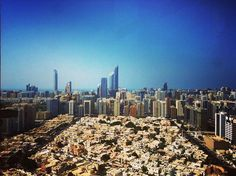 #abudhabi #cityscape #colorsofuae #littlethings #bigthings #iphone4 #andreaturno @andreaturno #corniche #worldtradecenter