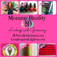 Mommy Reality #Giveaway