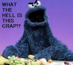 cookie monster eats kid ile ilgili görsel sonucu