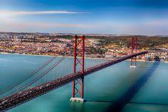 Ponte 25 de Abril by Leszek Wybraniec on 500px