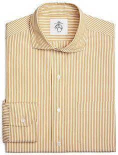 Candy Stripe Spread Collar Shirt