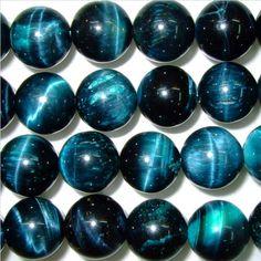 4mm/6mm/8mm/10mm/12mm Round Tiger Eye Beads Blue Semiprecious Gemstone Bead String Beading 15''L Jewelry Supply Wholesale Beads