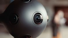 Nokia reveals Ozo, a futuristic new camera for filming virtual reality. Designed for Hollywood, not consumers
