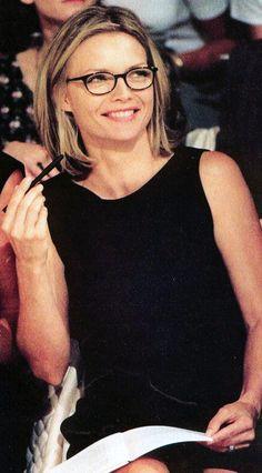 Michelle Pfeiffer stunning photo like glass