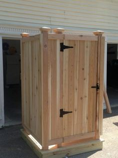 Free Outdoor Shower Wood Plans Diy In 2019 Pinterest Outdoor
