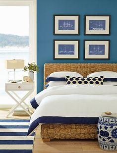 Guest Bedroom oversized seagrass headboard - Google Search