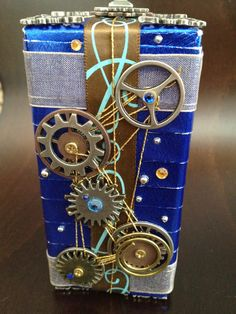 Dr. Who steampunk gift wrap