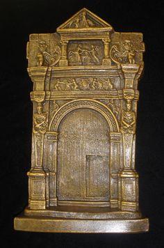 GREEK ROMAN FACADE CASTLE MEDIEVAL ARCHITECTURE 18025 #WallDecor
