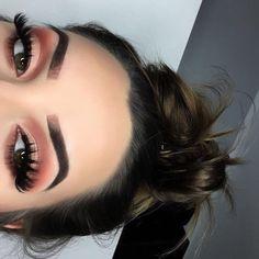 Spring color eyeshadow makeup looks red eyeshadow Smokey eye deep eyeshadow eyebrows on fleek beat face full face beauty Eyes : Pink Eyeshadow CLINIQUE BEAUTY Glam Makeup, Cute Makeup, Gorgeous Makeup, Pretty Makeup, Skin Makeup, Makeup Tips, Beauty Makeup, Hair Beauty, Makeup Ideas