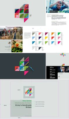 After winning a competitive pitch, Channel 4 commissioned ManvsMachine to create a new brand identity and on-air look for The package aligns with a re-focused range of content on the channel. Corporate Design, Graphic Design Branding, Identity Design, Visual Identity, Logo Branding, Brand Identity, Logo Design, Logos, Corporate Identity