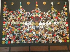 Lot of Vintage BUTTONS Collectible Antique Mixed lot of over 400 Various button
