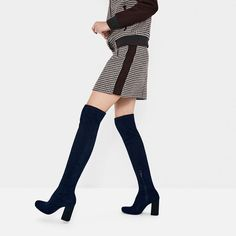 STRETCH HEELED BOOTS-View all-SHOES-WOMAN | ZARA United States