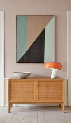 how to style large art in your home decor