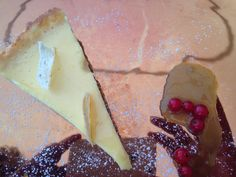 Lemon pie bij Divino in Porec